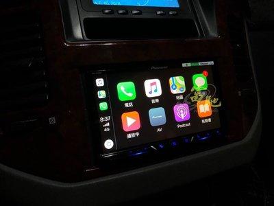富馳汽車音響  三菱PAJERO改裝先鋒 PIONEER AVH-Z5150BT 7吋DVD車用影音主機