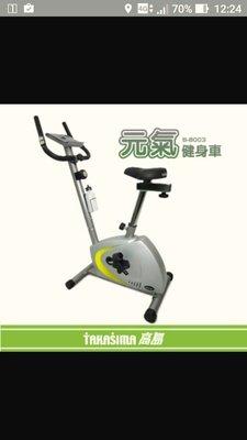 高島磁控元氣健身車