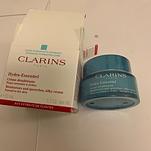 Clarins hydra-essentiel moisturizes and quenches, silky cream