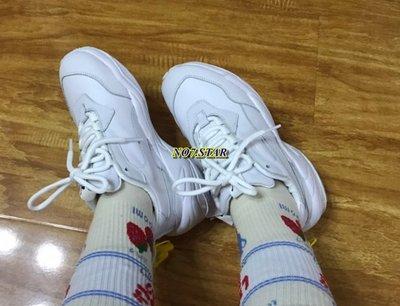 Puma Thunder Spectra 泫雅 老爹鞋 復古 全白 白灰 皮革 麂皮 休閒 男女鞋 370682-01