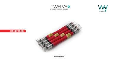 WAYCables TWELVE+ 5N單晶銀 Speaker Jumpers喇叭跳線 歡迎來電洽詢