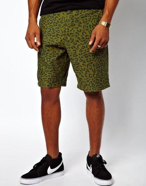 【 超搶手 】全新正品 2013 AW 秋季 UNDEFEATED COMBAT SHORT 短褲 豹紋迷彩 W28 29 30 31 32 34 36 38