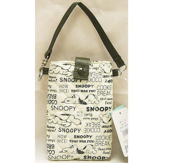 史努比SNOOPY 小物袋 手機袋 悠遊卡袋 奶爸商城 396224 特價出清