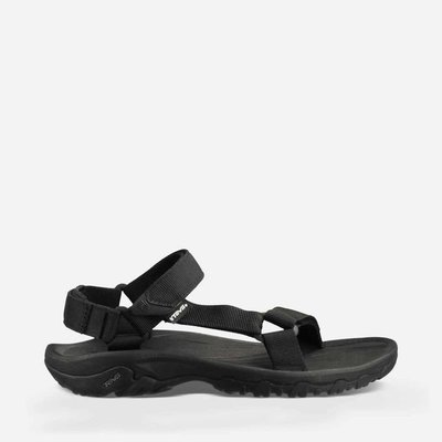 WaShiDa【HURRICANE】TEVA 美國品牌 夏日 運動 經典 多點式 調整 織帶 水陸 涼鞋 黑
