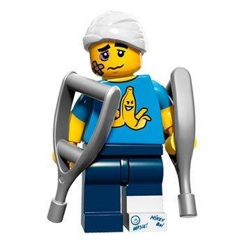 (JEFF) LEGO 樂高 71011 第15代 4號 受傷的人 笨拙的人 抽抽樂 人偶包 全新未拆袋