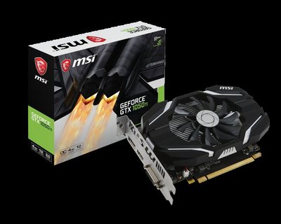 MSI GeForce GTX 1050 Ti 4G OC 良品 保固七天 高雄楠梓大社可面交