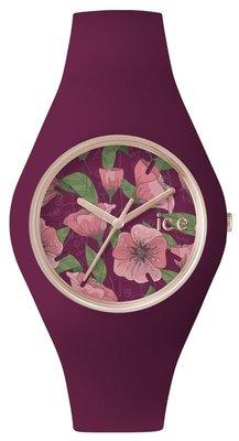 [永達利鐘錶 ] ICE watch 花樣設計腕錶-紫 IWICE.FL.IDY.U.S.15 原廠公司保固24個月