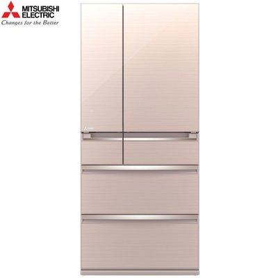 MITSUBISHI 三菱 《MR-WX71C-F-C》 705公升 日本原裝 變頻六門電冰箱-水晶杏