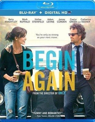 BD 全新美版【曼哈頓戀習曲】【Begin Again】Blu-ray 藍光 綺拉奈特莉