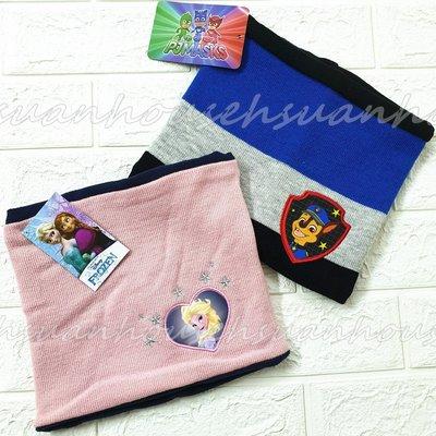 外貿 艾莎  冰雪奇緣 汪汪隊 針織 兒童 圍脖 卡通 圍巾 男童 女童