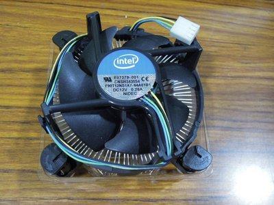 ...點子電腦-北投...中古◎INTEL原廠風扇1155腳位 CPU散熱器◎LGA1155,280元G3900用的