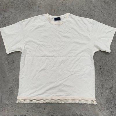 【inSAne】韓國購入 / 須須 / 短袖 / 單一尺寸 / 米色