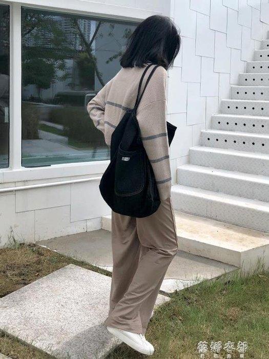 【優惠特價】韓版牛仔包大容量購物袋學生文藝小清新原宿單肩帆布包女ulzzang  『本色家飾』