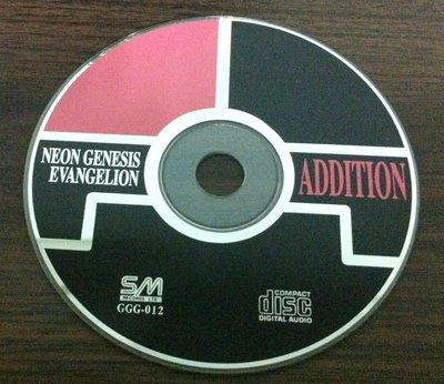 配樂--NEON GENESIS EVANGELION ADDITION~二手