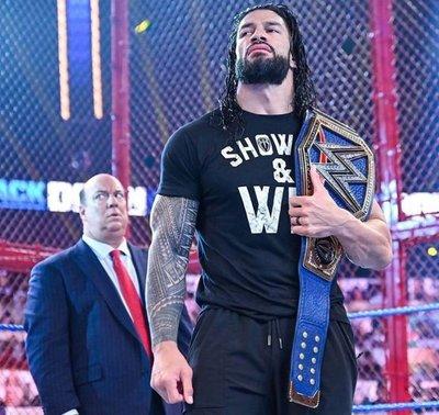 [美國瘋潮]正版WWE Roman Reigns Show Up & Win T-shirt 大狗RR壓軸致勝最新款衣服