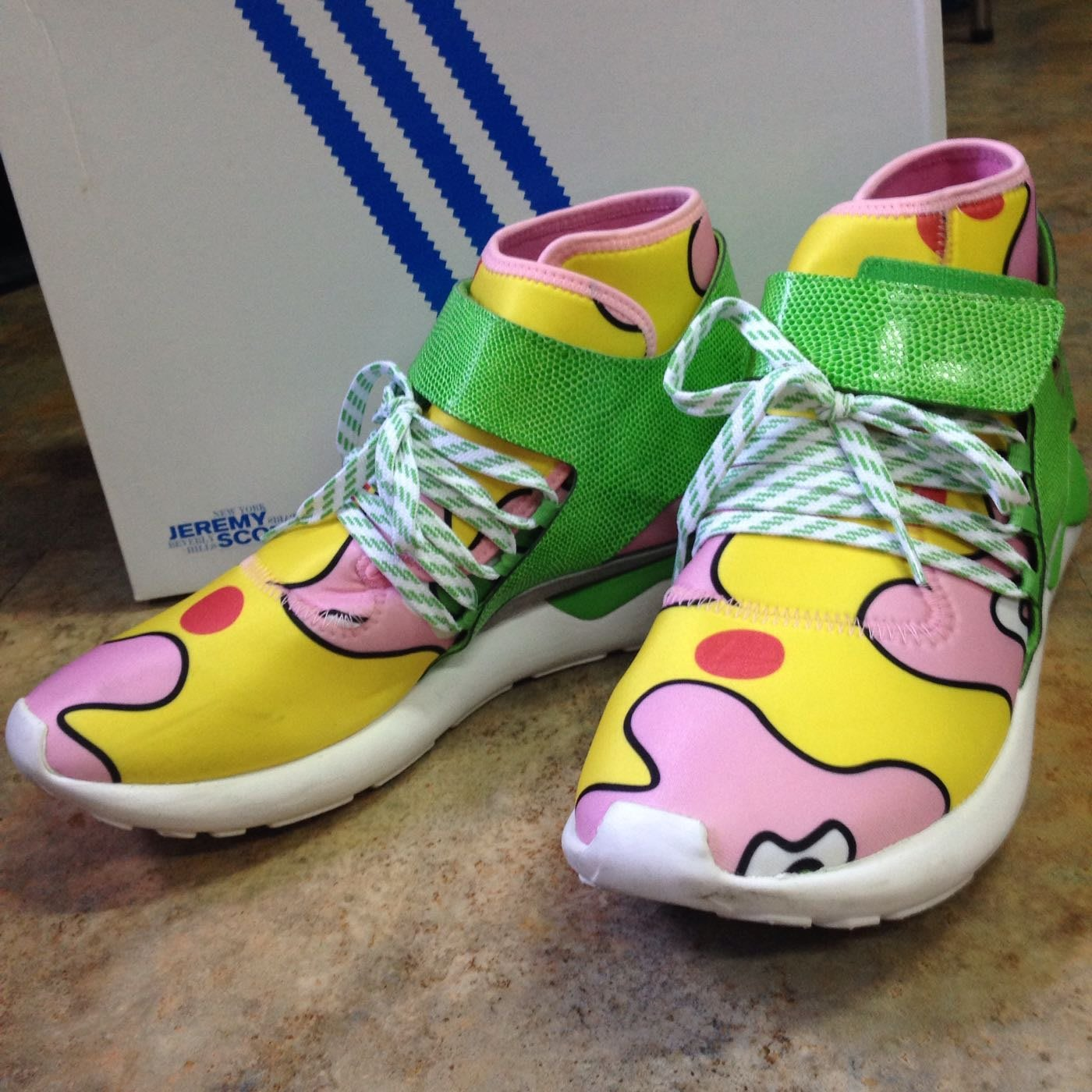 san francisco 5fa14 21637 (定價對折以下超低價) adidas Originals x Jeremy Scott JS Tubular   Yahoo奇摩拍賣