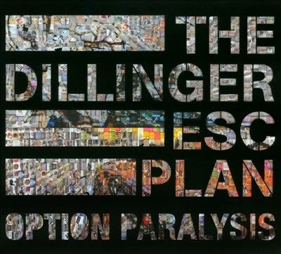 ##90 全新CD  The Dillinger Escape Plan - Option Paralysis 2010