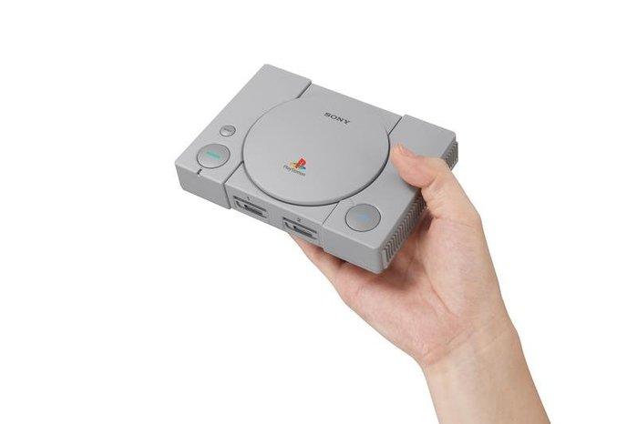 限量發售 刷卡 發票預購 台灣公司貨 12月3 初代 Ps1 迷你主機 PlayStation®Classic