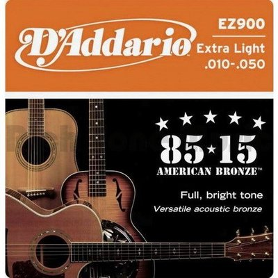 ☆ 唐尼樂器︵☆美國製原廠公司貨 Daddario EZ900/ EZ910/ EZ920 木吉他/民謠吉他弦