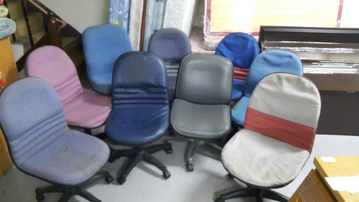 樂居二手家具 全新中古傢俱賣場 CF0424AJJ 布面辦公椅*OA椅 電腦椅 書桌椅 洽談椅 辦公OA家具專賣店