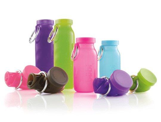 騎跑泳者 - Bubi Bottle水瓶 收納方便,外出旅行,運動好幫手 小瓶450毫升,8色可選,送寶礦力粉乙小盒
