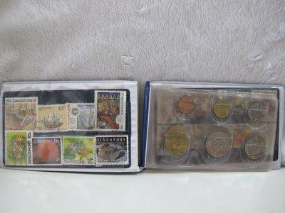 二手舖~NO.14新加坡+紀念幣及郵票