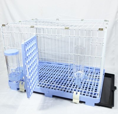 【優比寵物】歐式簡約610-M款全配寵物籠/寵物屋/狗籠/貓籠/兔籠/寵物籠(附自動餵食器/自動飲水器)  台灣製造