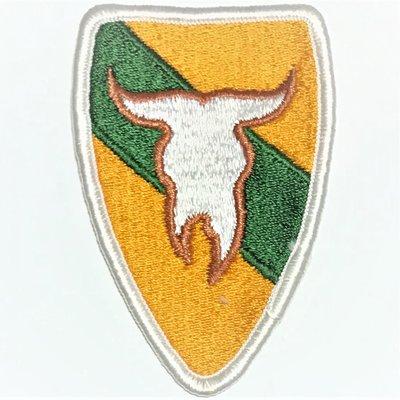 美軍公發 ARMY 陸軍 163rd Armored Cavalry Regiment 臂章 彩色 全新