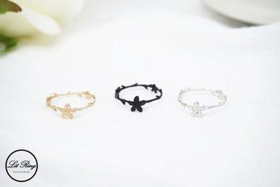 【Lit Ring】女神桂冠花圈戒指│銀色 金色 黑色 樹葉 花環 小花 花朵 藤蔓 葉子 細戒指 線戒 戒指 飾品