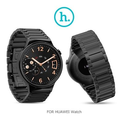--庫米--HOCO HUAWEI Watch 格朗錶帶三珠款 (黑色)