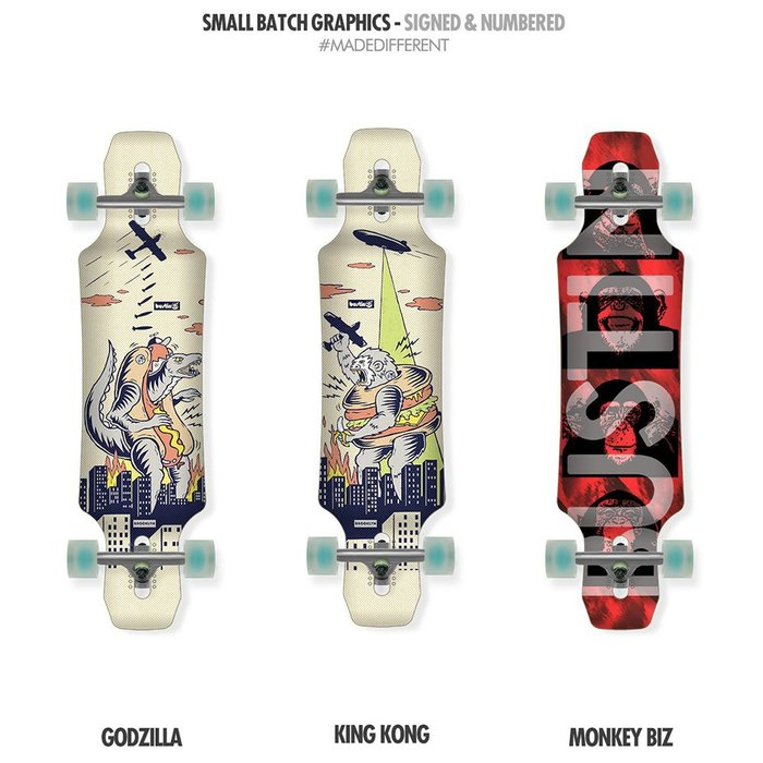 Bustin Boards(滑板長板、交通板) - Maestro Mini (E)Core™ 迷你大師 (板身)