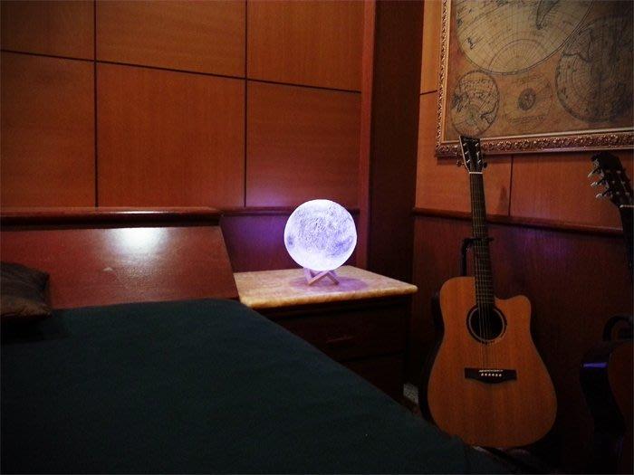 【現貨】【28cm】裝飾 月球燈 遙控 USB 充電 小夜燈 夜燈 月亮燈 月球 月亮 檯燈 立燈 床頭燈 燈飾