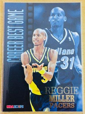 REGGIE MILLER 1996-97 SKYBOX HOOPS CAREER BEST GAME 特卡