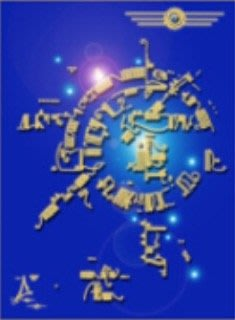[心靈之音] #222 聯邦藍圖:物體傳送算式(時間旅行科技模版)-能量催化圖系列-美國進口中文說明
