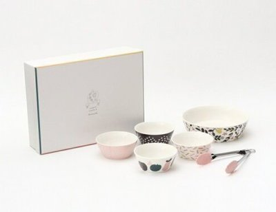【Apple 艾波好物.選物】Afternoon Tea 大碗+小碗+夾 一組4入
