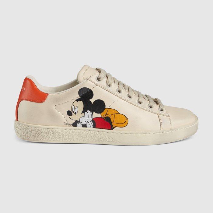 【代購】 Gucci  Disney x Gucci Ace sneaker 限量迪士尼 休閒鞋