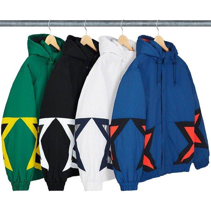 【美國鞋校】預購   Supreme SS19 Stars Puffy Jacket 外套 四色