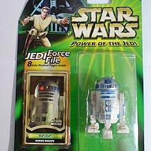 Star Wars 星球大戰 R2-D2 Power of the Jedi 3.75吋 figure