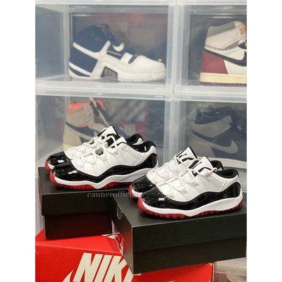 【罐頭選貨】Jordan 11 Retro Low White Bred 505835-160 505836-160