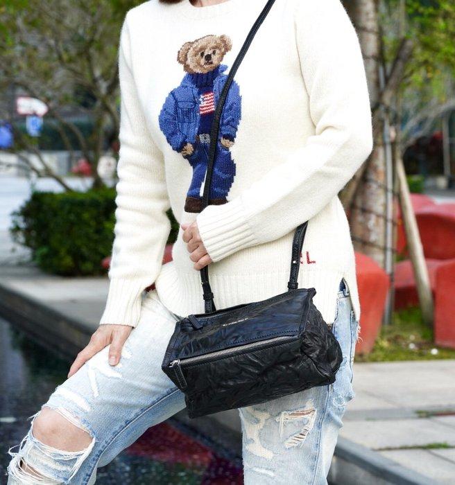 Givenchy Pandora bag 迷你水洗羊皮 紀梵希潘朵拉慾望肩背包 黑 現貨