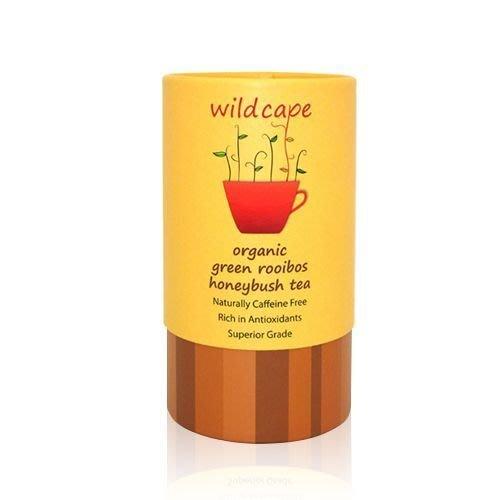 【魔法世界 】Wild Cape 南非國寶茶 野角有機南非博士綠蜜樹茶 40包/罐