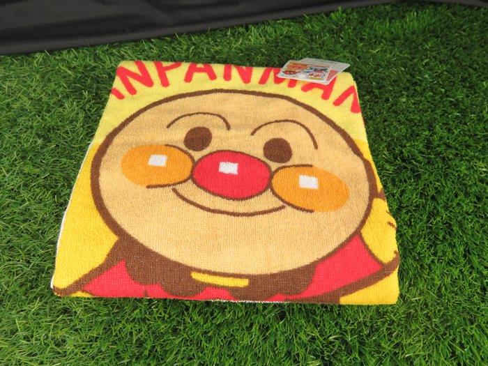 【iSport代購】日本代購 台灣現貨 麵包超人 午睡毯毛巾 181000YE  100%綿 交換禮物