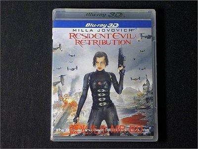 [3D藍光BD] - 惡靈古堡V:天譴日 Resident Evil V : Retribution 3D + 2D 雙碟限定版