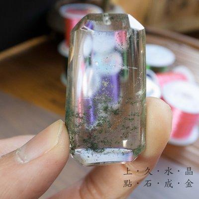 上久水晶』__天然綠幽靈水晶吊墜__2...