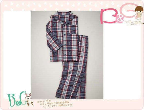 【B& G童裝】正品美國進口GAP Plaid skull pajama set 骷顱頭圖樣格子長袖長褲睡衣組18-24mos,2yrs