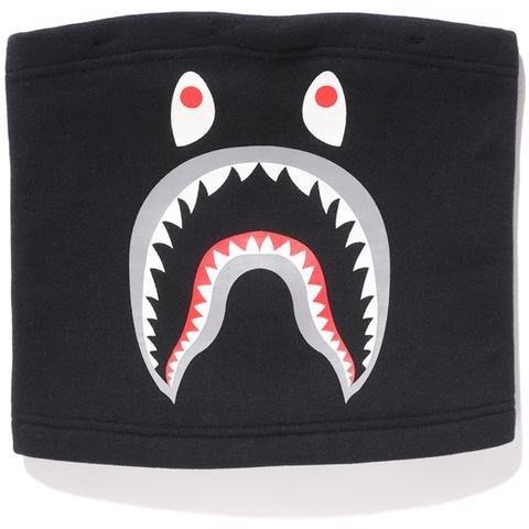 ☆AirRoom☆【現貨】A BATHING APE SHARK SWEAT NECK WARMER 圍脖 鯊魚