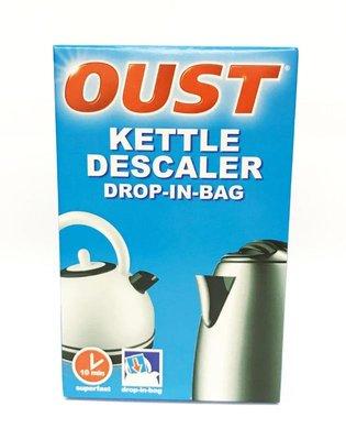 英國進口/ 歐洲製造 Oust 水壺專用 除垢劑 (每份1包 : 75 g) kettle descaler