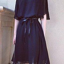 中大尺碼XL-5XL中長款洋裝連身裙夏裝新款胖妹妹200遮肚子顯瘦雪紡連衣裙2F044A-3232
