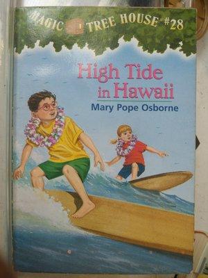 [花椰菜書房] 原文書 MAGIC TREE HOUSE #28 High Tide in Hawaii / Mary Pope Osborne