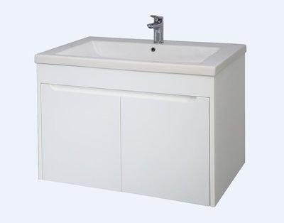 [勞倫斯衛浴生活商場]TO-648E烤漆浴櫃-寬79CM(合TOTO-LW648CJT1面盆)(價格不含盆)專業淋浴拉門